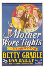Mother Wore Tights 1947 DVD - Betty Grable / Dan Dailey